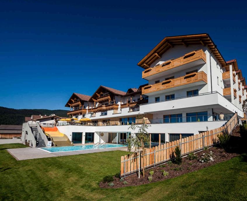 Family hotel alpenhof hotel per bambini in montagna in trentino alto adige its4kids - Hotel con piscina montagna ...