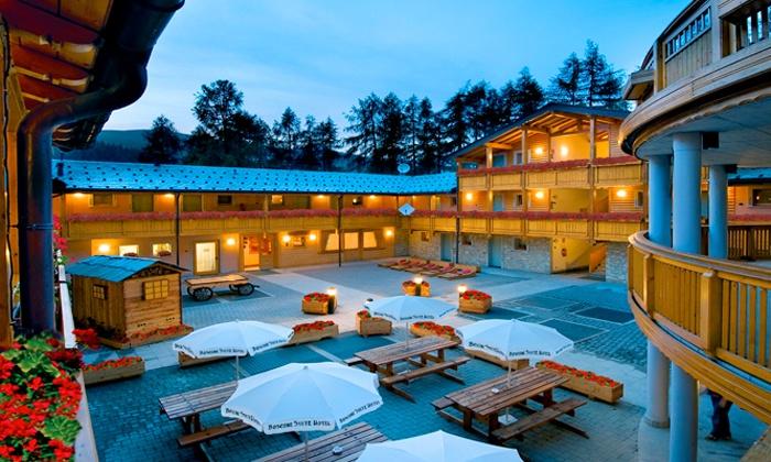 Boscone suite hotel hotel per bambini in montagna a madesimo its4kids - Hotel con piscina riscaldata per bambini ...