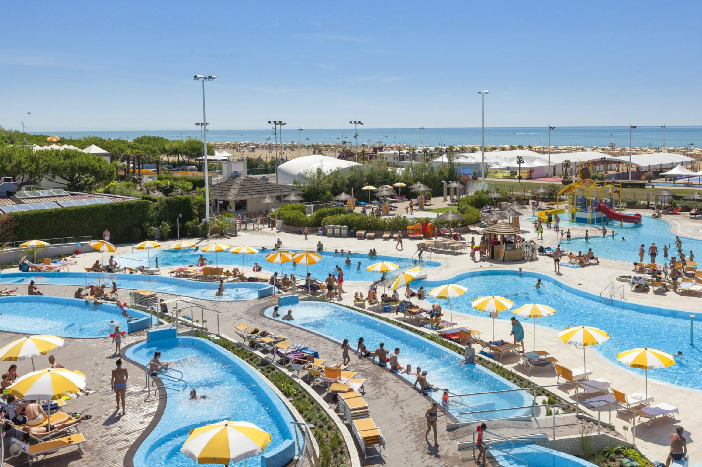 Villaggio turistico internazionale villaggio per bambini al mare a bibione its4kids - Piscina bambini roma ...