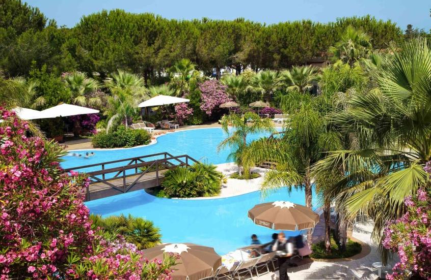 Oleandri resort paestum hotel per bambini al mare in campania its4kids - Hotel giardino al mare sestri levante ...