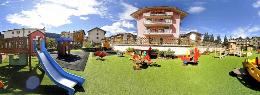 Alpino family hotel andalo hotel per bambini in for Hotel per bambini trentino