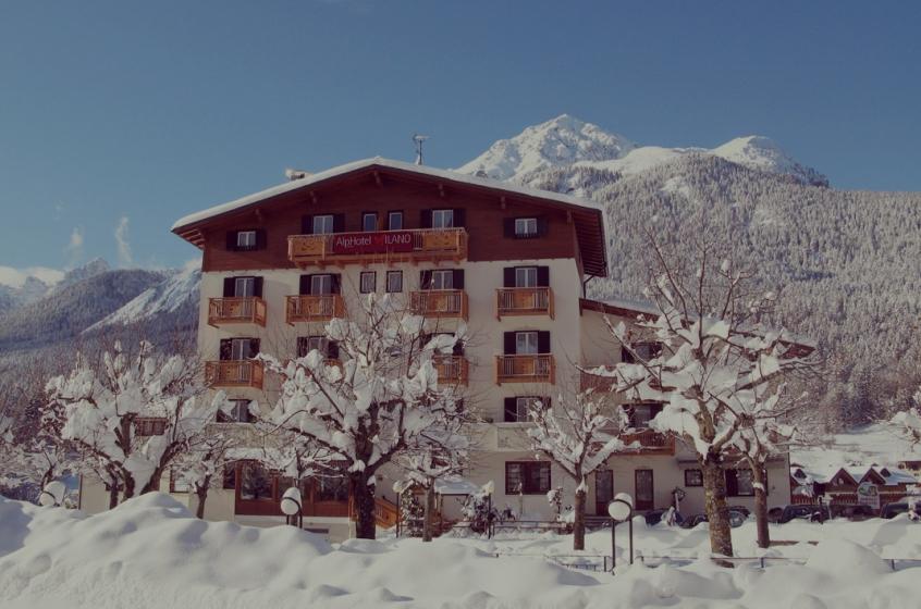 Alphhotel milano hotel per bambini in trentino alto for Hotel per bambini trentino