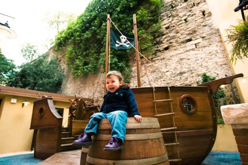 Il giardino dei Pirati al Grand Hotel Savoia - Vacanze a Genova con i bambini