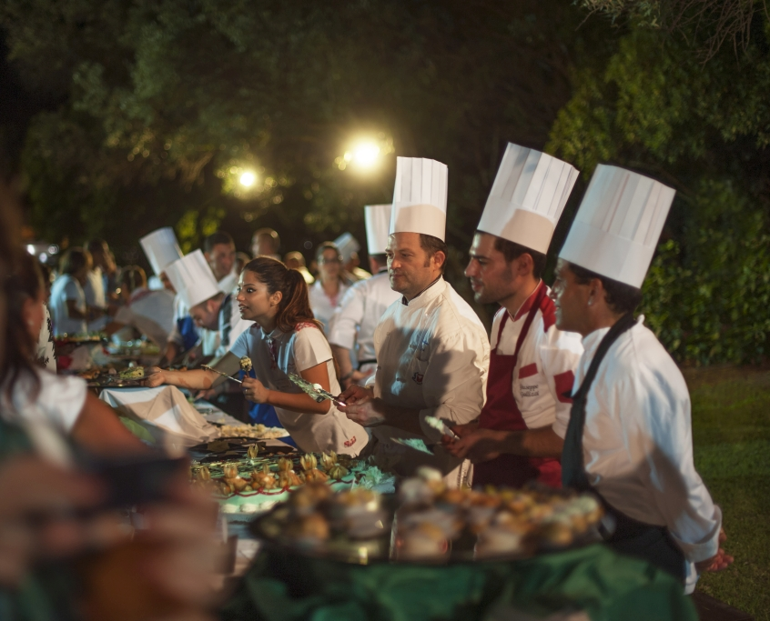 Il buffet del Voi Floriana Resort in Calabria - Vacanze in resort con i bambini