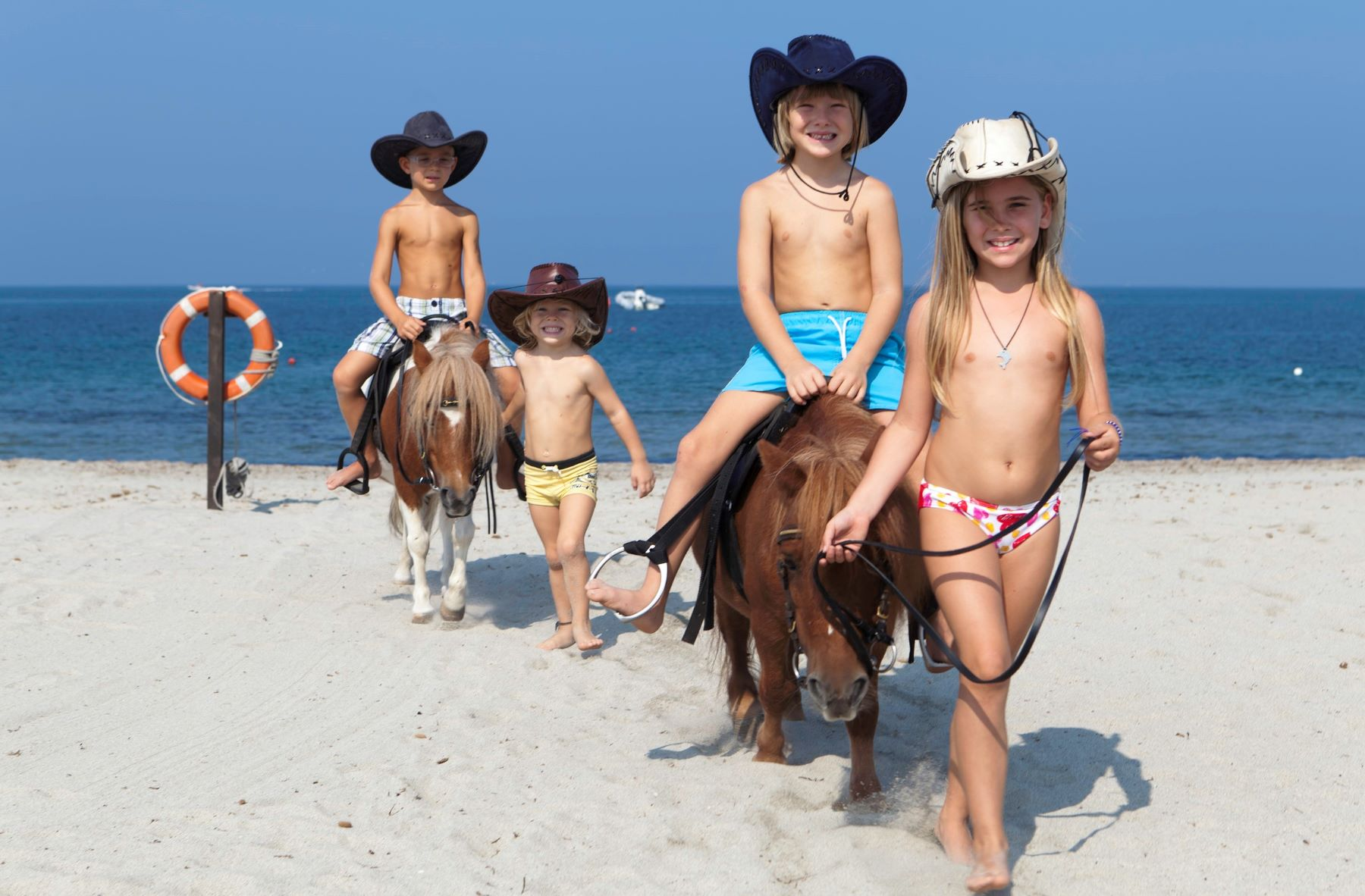 Divertimento per bambini con i cavalli - Horse Country Resort