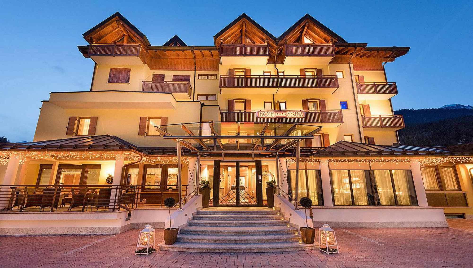 Hotel serena hotel per bambini in montagna a andalo for Hotel per bambini trentino