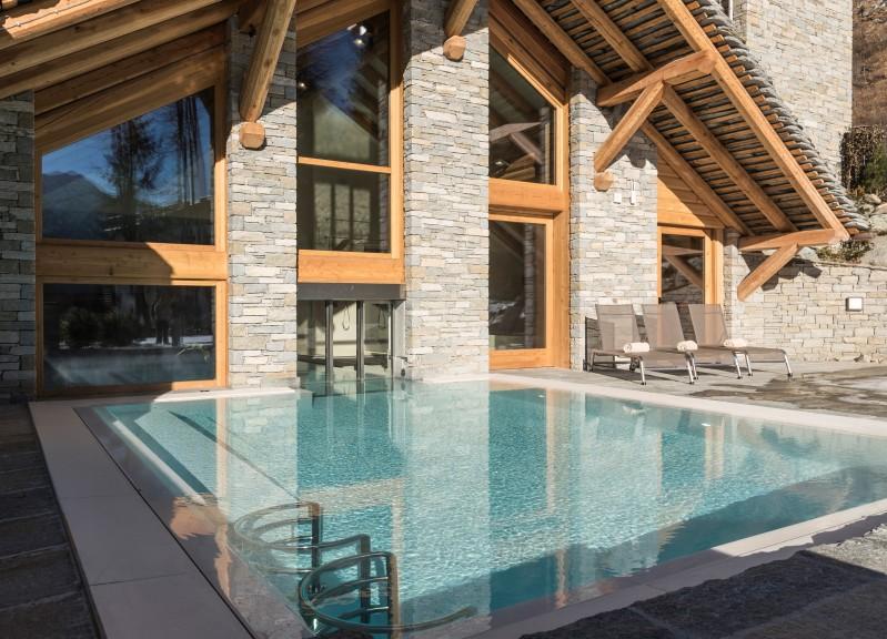 Alagna Resort Experience - piscina interna ed esterna