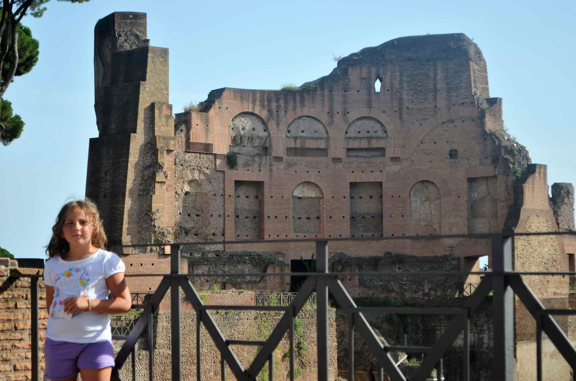 Il Foro Romano - A Roma con i bambini