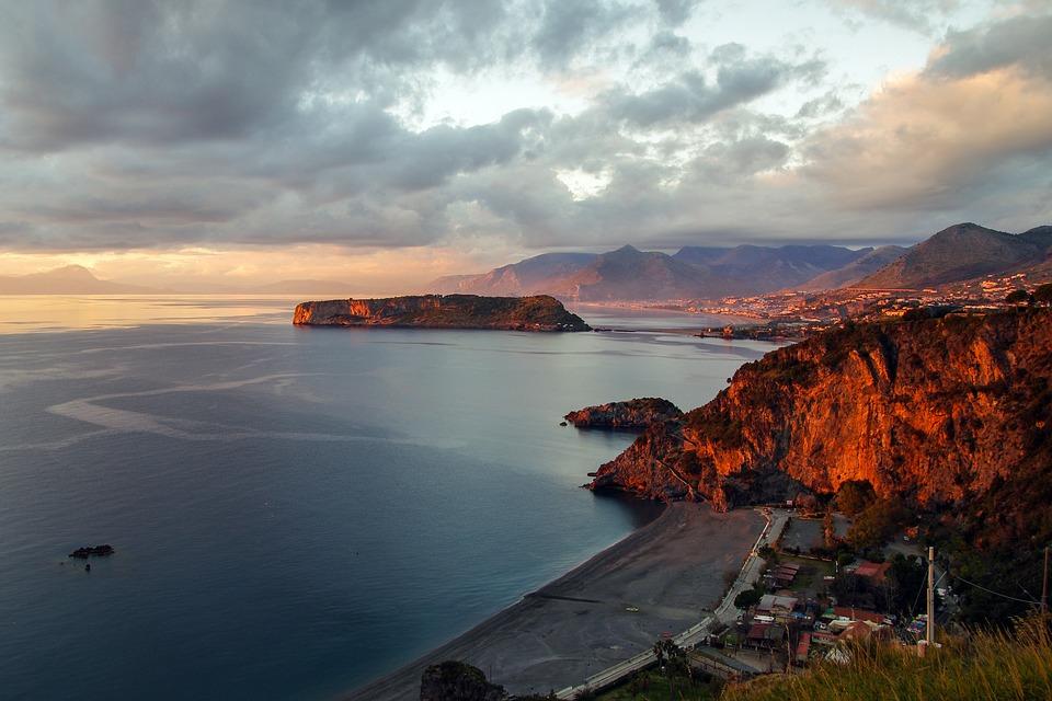 Praia a mare in Calabria - Spiagge sul Mare Tirreno