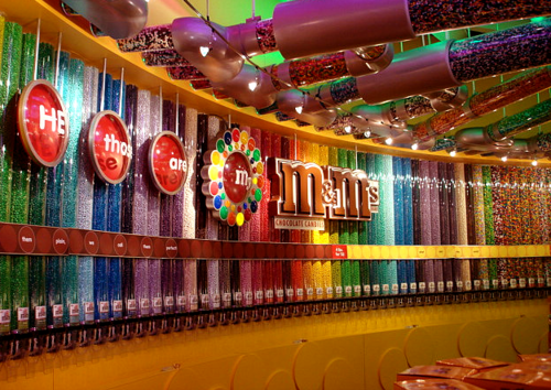 M & M's world dolci per bambini a Londra